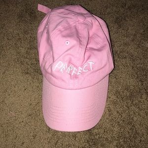 Pink perfect hat